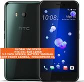 htc u11 6gb 128gb dual sim octa-core 12mp fingerprint android smartphone black