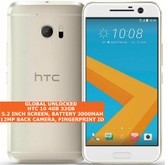 "htc 10 4gb 32gb quad-core 12mp fingerprint id 5.2"" android lte smartphone gold"