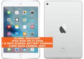 apple ipad mini wi-fi 64gb dual-core 5.0mp face detection 7.9 ios tablet white