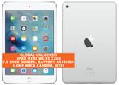 apple ipad mini wi-fi 32gb dual-core 5.0mp face detection 7.9 ios tablet white