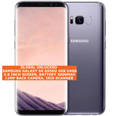 "samsung galaxy s8 g950u usa version 4gb 64gb 12mp 5.8"" android smartphone gray"
