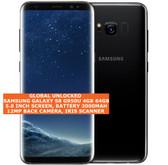 "samsung galaxy s8 g950u usa version 4gb 64gb 12mp 5.8"" android smartphone black"