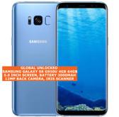 "samsung galaxy s8 g950u usa version 4gb 64gb 12mp 5.8"" android smartphone blue"