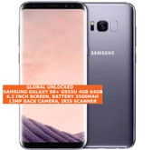 "samsung s8+ g955u usa version 4gb 64gb 12mp fingerprint 6.2"" android lte 4g grey"