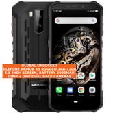 "ulefone armor x5 rugged 3gb 32gb waterproof 13mp face id 5.5"" android lte 4g black"