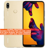 "huawei p20 lite ane-lx1 global version 4gb 128gb 16mp 5.84"" android lte 4g gold"