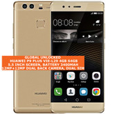 "huawei p9 plus vie-l29 4gb 64gb octa-core 12mp dual sim 5.5"" android lte gold"