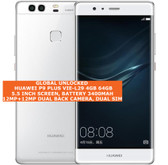 "huawei p9 plus vie-l29 4gb 64gb octa-core 12mp dual sim 5.5"" android lte white"