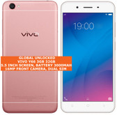 "vivo y66 3gb 32gb octa core 16mp selfie camera 5.5"" android lte smartphone pink"