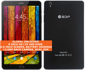 8 inch 4g lte 4gb 64gb octa core 12mp camera dual sim android 7.0 tablet black