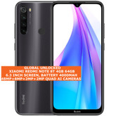 xiaomi redmi note 8t 4gb 64gb dual sim 48mp quad ai face id 6.3 android 4g grey