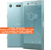 sony xperia xz1 compact so-02k 4gb 32gb octa core 19mp fingerprint android blue