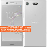 sony xperia xz1 compact so-02k 4gb 32gb octa core 19mp fingerprint android silver