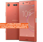 sony xperia xz1 compact so-02k 4gb 32gb octa core 19mp fingerprint android pink
