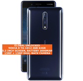 "nokia 8 ta-1012 4gb 64gb octa-core 13mp fingerprint 5.3"" android polished blue"