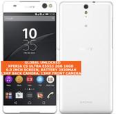 """sony xperia c5 ultra e5553 2gb 16gb 13mp single sim 6.0"""" android lte 4g white"""