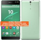 """sony xperia c5 ultra e5553 2gb 16gb 13mp single sim 6.0"""" android lte mint"""