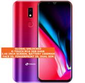 k-touch m16 3gb 64gb quad core 5.0mp fingerprint dual sim android gradient red