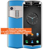 """k-touch m17 3gb 64gb quad core 8.0mp face id 3.46"""" dual sim android lte 4g blue"""
