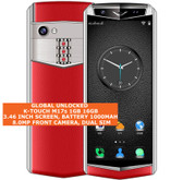 "k-touch m17s 16gb quad core 8.0mp face id 3.46"" dualsim android smartphone red"