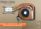 lenovo thinkpad x1 carbon x1 gen2 fru 04w3589 cpu cooling fan with heatsink