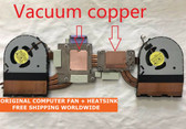 dell alienware 15r1 15r2 0w8rw9 cpu gpu vacuum copper for cooler fan heatsink