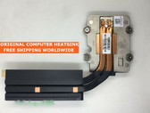 hp zbook17 735372-001 735371-001 cpu heatsink 2 heatpipes cooler heatsink