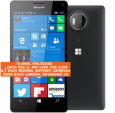 "microsoft lumia 950 xl rm1085 3gb 32gb octa-core 20mp 5.7"" windows 10 lte black"