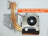 sony vpc m930 f115 f116 f117 f118 f119 f129 300-0001-1262 cpu fan with heatsink