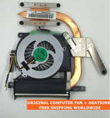 sony vaio sve1511s7cw sve15126ccp sve15116ecb sve15 cooling fan with heatsink