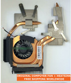 hp pavilion dv6z dv7t dv7-2000 dv7-2100 dv7-2200t 516876-001 fan with heatsink