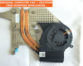 dell studio 1457 1458 p03g 0wr608 udqf2jr01cf0 cpu cooling fan with heatsink