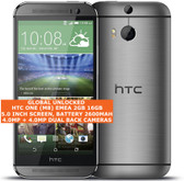 htc one (m8) emea 2gb 16gb quad-core 4.0mp led flash 5.0 android smartphone grey