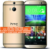htc one (m8) emea 2gb 16gb quad-core 4.0mp led flash 5.0 android smartphone gold