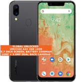 "umidigi a3x 3gb 16gb quad core 16mp fingerprint 5.7"" android 10 smartphone grey"