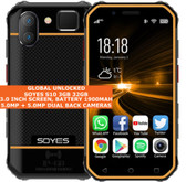 "soyes s10 3gb 32gb quad core 5.0mp face id dual sim 3.0"" android 4g lte yellow"
