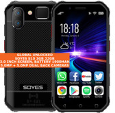 "soyes s10 3gb 32gb quad core 5.0mp face id dual sim 3.0"" android 4g lte black"