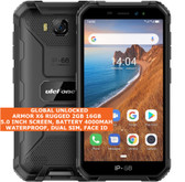 "ulefone armor x6 rugged 2gb 16gb waterproof 8.0mp face id 5.0"" android 3g black"