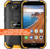 "ulefone armor x6 rugged 2gb 16gb waterproof 8.0mp face id 5.0"" android 3g orange"