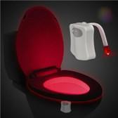 led toilet light bathroom washroom body auto motion sensor toilet lamp red