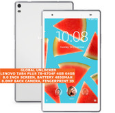 "lenovo tab4 plus tb-8704f 4gb 64gb octacore 8.0mp fingerprint 8.0"" android white"