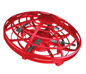 mini ufo rc flying drone helicopter induction aircraft quality rc toys kids red