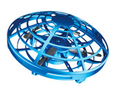 mini ufo rc flying drone helicopter induction aircraft quality rc toys kids blue