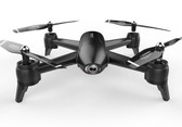 sg106 wifi 4khd dual camera rc drone aerial video quadcopter aircraft toys black