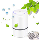 rigoglioso air purifier home hepa filters 5v low noise air purifier with light