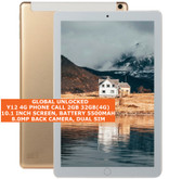 "y12 4g phone call 2gb 32gb(4g) octa-core 8.0mp camera 10.1"" android tablet gold"