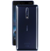 "nokia 8 ta-1004 4gb 64gb octa-core 13mp fingerprint 5.3"" android polished blue"