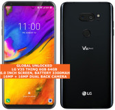 "lg v35 thinq 6gb 64gb octa-core 16mp fingerprint id 6.0"" android smartphone black"