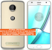 "motorola moto z2 play xt1710-01 3gb 32gb 12mp fingerprint 5.5"" smartphone gold"