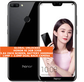 "honor 9i 3gb 32gb octa core 13mp fingerprint 5.84"" android smartphone 4g black"